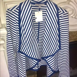 NY Collection Stripped Jacket
